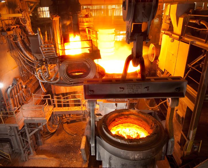 Steelmaking | North American Forgemasters