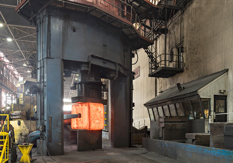 Ultra Large Forgings North American Forgemasters
